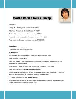 curriculum vitae 2013 - Saber UCV
