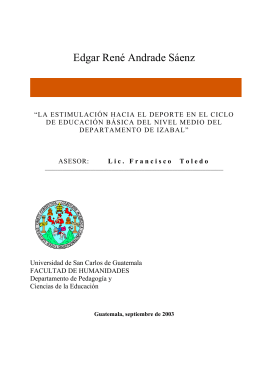 Edgar René Andrade Sáenz - Biblioteca Central