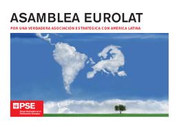 ASAMBLEA EUROLAT - Socialists & Democrats