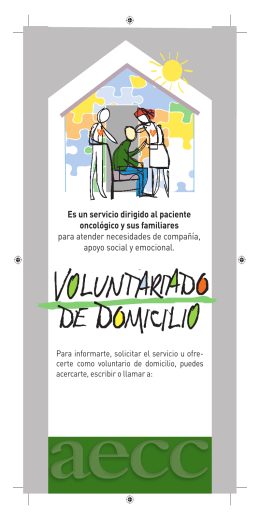 Voluntariado de domicilio