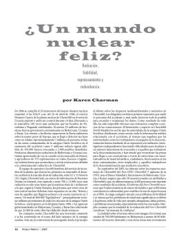 ¿Un mundo nuclear feliz?