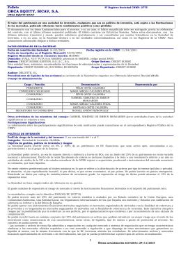Folleto PDF - Credit Suisse