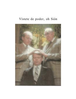 VISTETE DE PODER, OH SION