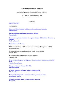 Revista española del Pacífico. Nº 3