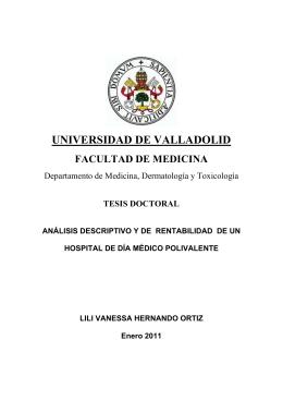 universidad de valladolid facultad de medicina