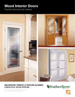 Product Catalog - Feather River Doors