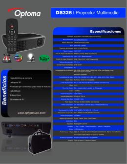 Folleto DS326