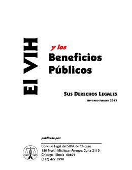 El VIH y los Beneficios Públicos