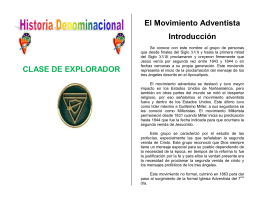El Movimiento Adventista