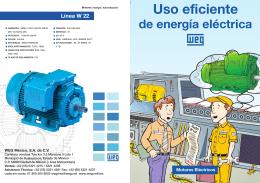 Motor Uso Eficiente de Energia Electrica