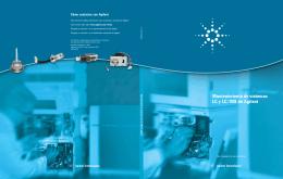 Mantenimiento de sistemas LC y LC/MS de Agilent