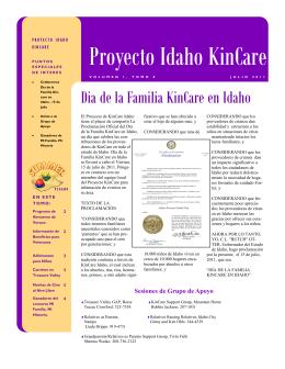 Proyecto Idaho KinCare