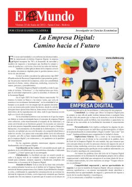 La Empresa Digital: Camino hacia el Futuro