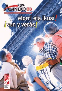 Catálogo ADINEKO 2008 - Bizkaiko Foru Aldundia