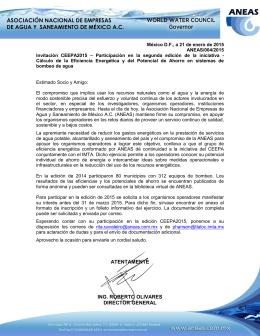 ATENTAMENTE ING. ROBERTO OLIVARES DIRECTOR
