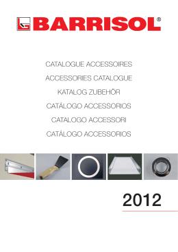 catalogue accessoires accessories catalogue katalog zubehör