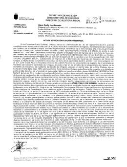 Estrados - Secretaria de Hacienda