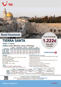 1.222€ - SamaTravel.net