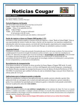 Noticias Cougar