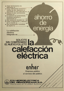 calefacción eléctrica - a16