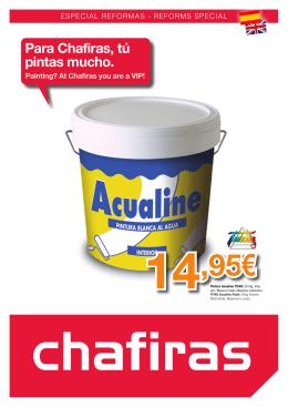 14,95€ - Chafiras