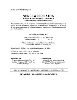 VENCEWEED EXTRA
