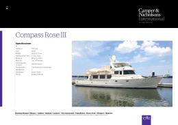 Compass Rose III Yate Para Alquilar