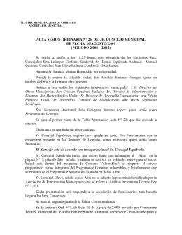 ordinaria 26- - Municipalidad de Coihueco
