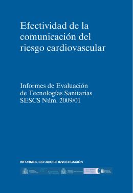 Efectividad de la comunicación del riesgo cardiovascular