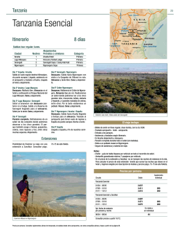 Tanzania Esencial