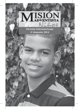 MISION Ninos 4T2014 - Recursos Escuela Sabática