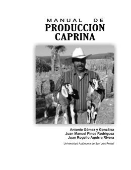 Manual de Produccion Caprina (UASLP)