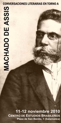 Folleto Machado de Assis