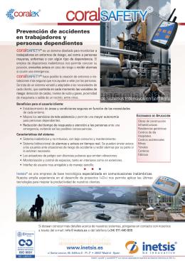 Prevención de accidentes en trabajadores y personas