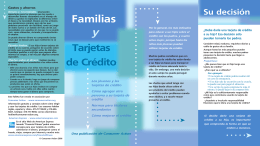 Familias y - Consumer Action