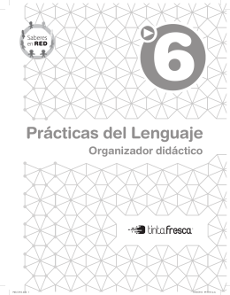Prácticas del lenguaje 6 - Saberes en red