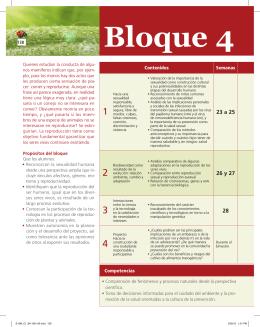 Bloque 4 - Secundaria SM