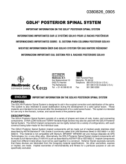 0380826_0905 gdlh® posterior spinal system