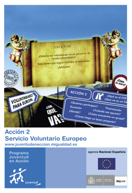 Acción 2 Servicio Voluntario Europeo