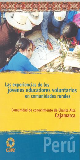 Las experiencias de los jóvenes educadores voluntarios en
