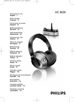 HC 8520 - produktinfo.conrad.com