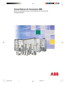 Convertidores de frecuencia ABB