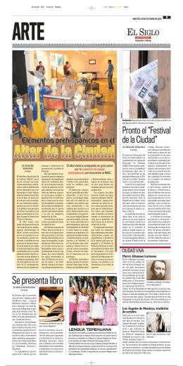 Se presenta libro - El Siglo Durango