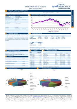 medivalor europeo fi report mensual de fondos