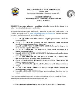 Estructura propuesta. - Colegio Nacional Nicolas Esguerra
