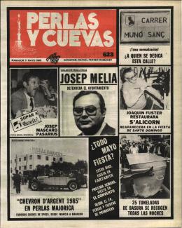 JOSEP MELIA - Biblioteca Digital de les Illes Balears