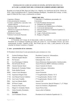 acta iii reunión consejo 2009-2010