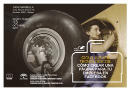 folleto 131011 - Andalucía Emprende