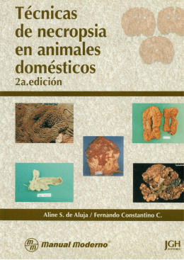 Manual de Necropsias Dra Aline (2° edición)