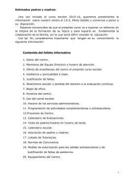 Descargar boletín - IES Pérez Galdós